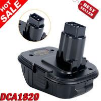 New DCA1820 Adapter For Dewalt 20 Volt Lithium Battery Convert to 18 Volt Tools