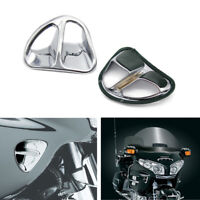 For Honda GL1800 Air Intake Motorcycle Chrome Fairing Accents Grilles