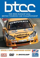 BTCC British Touring Car Championship - Official Review 2005 (New DVD)