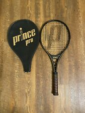 New listing Prince Graphite Pro Tennis Racquet 4 1/2 Grip with Cover 1983