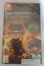 TINY TROOPERS Joint Ops XL Nintendo Switch Game Download CIB New Sealed UK 12+