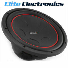 "MB QUART RWM304 12"" REFERENCE SERIES DUAL 4-OHM 700W MAX SUBWOOFER CAR AUDIO SUB"