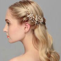 Fashion Bridal Hair Accessories Pearl Flower Hair Pin Stick Jewelry Wedding Part