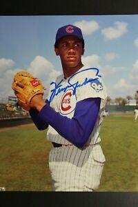 Ferguson Fergie Jenkins Chicago Cubs HOF Signed Autographed Vintage 8x10 Photo