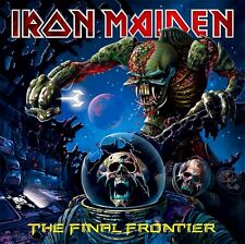 Iron Maiden - The Final Frontier Vinyl LP Sticker or Magnet