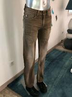 jeans marron demi slim homme KAPORAL kamal taille W30  L34 excellent état