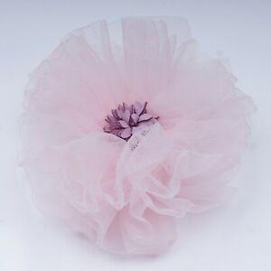 Little Cuttiee #1226 Hair Clip Large Flower (4.0in) Fancy & Cute