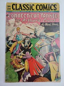 Classic Comics #24 Second Edition Gilberton Comics 1945