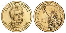 2008 P Andrew Jackson Presidential One Dollar Coin From U.S. Mint Money