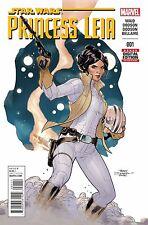 Princess Leia #1 1st Printing 2015 Star Wars VF+ Comic Marvel  - Vault 35