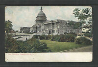 1907 THE CAPITAL WASHINGTON DC UDB UNDIVIDED BACK POSTCARD