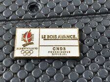 pins pin OLYMPIC JO ALBERTVILLE 92 OLYMPIQUE LE BOIS AVANCE