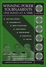 Winning Poker Tournaments One Hand at a Time Volume II Volume II by Eric...