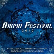Amphi Festival 2010 CD Blutengel COMBICHRIST Eisbrecher