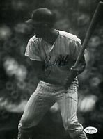 Roy White Yankees Signed Jsa Cert Sticker 8x10 Photo Autograph Authentic