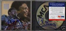 BB KING SIGNED CD COVER/DISC (KING OF THE BLUES) PSA/DNA