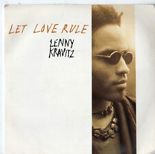 "Lenny Kravitz - Let Love Rule 7"" Single 1989"