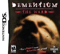 Dementium: The Ward (Nintendo DS) Lite Dsi xl 2ds 3ds xl
