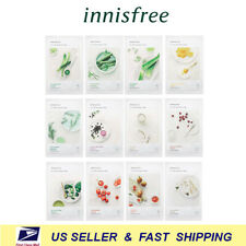 [ Innisfree ] My Real Squeeze Mask Sheet 12 Kinds ( 1 of Each Kind )