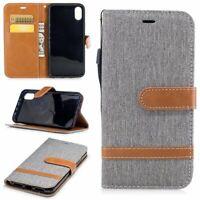 Apple iPhone X Hülle Case Handy Cover Schutz Tasche Schutzhülle Bumper Etui Grau