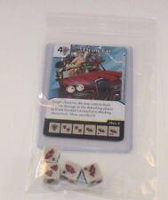 Marvel Dice Masters Deadpool * FLYING CAR * RARE Uncommon Set CUR + 4 dice