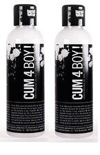 Cum 4 Boy! Hybrid Cum Like Waterbased & Silicone SPUNK Lubricant Twin Pack 200ml