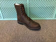 New Justin Boots Wk 960 Soft Toe Work Boot Size 11.5 D Waterproof