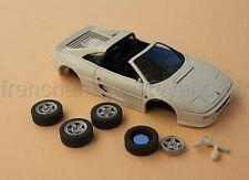 LT Voiture Ferrari F355 355 collector blanc cassé 1/43 Heco modeles miniature