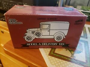 Racing Champions Ford Model A Delivery Van Martinsville Speedway Die-Cast Bank