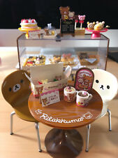 WHOLESALE Rilakkuma Cake Shop Re-ment + Display Case + Cafe Table and Chair Set!