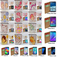 For Samsung Galaxy Series 12 Zodiac Theme Print Wallet Mobile Phone Case Cover 2