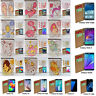 For Samsung Galaxy Series 12 Zodiac Theme Print Wallet Mobile Phone Case Cover 1