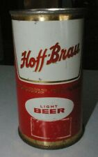 Hoff Brau Light Beer Flat Top Beer Keglined can bottom is missing Fort Wayne IN