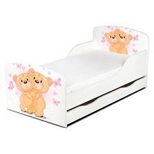 Pricerighthome Ours Bear Hug Bébé Lit avec Tiroir Rangement Enfants Chambre