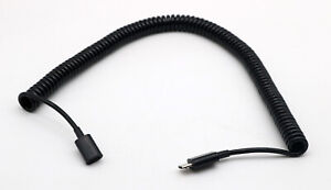 1x Micro USB 5 Pin Male to Female Extension Spiral Coiled Data Charging Cable 3m