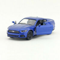 1/36 Ford Mustang GT 2015 Model Car Diecast Toy Vehicle Pull Back Kids Gift Blue