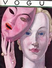 VOGUE November 24 1930 Lepape Vanity Number Steichen Joan Bennett Lee Miller
