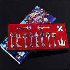 12pcs/Box Kingdom Hearts 2 SET KEY BLADE Sora Keyblade Pendant HHJJK-9