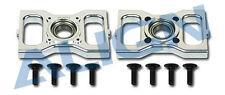 Align Trex 600N Metal Main Shaft Bearing Block  Silver HN6068QF