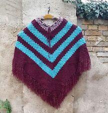 Ärmellose Damen-Pullover & -Strickware im Ponchos-Stil aus Polyester