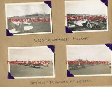 DVD  WW2 PHOTO ALBUM RAF SELETAR SINGAPORE 1947 SPITFIRE SUNDERLAND FLYING BOATS