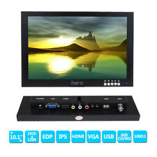 "10"" IPS LCD 1920x1200 HD Monitor HDMI / BNC /VGA para FPV Video Display DVD CCTV"