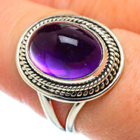 Amethyst 925 Sterling Silver Ring Size 8.5 Ana Co Jewelry R50335F