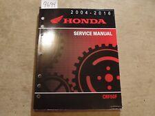 2004 - 2013 Honda CRF50F OEM Factory Service Repair Manual 2012 2011 2010 2009