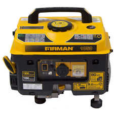 Firman 1050W Running / 1300W Peak Gas Generator, FREE SHIPPING*, NO TAX