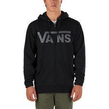 New VANS Mens Fleece Lined Native Camo Logo Classic Full Zip Hoodie Sweatshirt