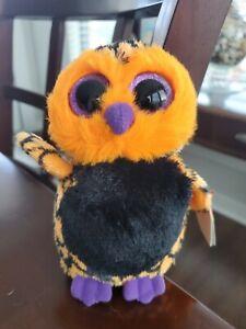 Ty Beanie Boo Haunt The Halloween Owl w/Tags