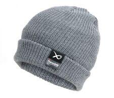 Angelsport Bekleidung EIGER Striped Knitted Hat Brown 47828 Beanie Mütze Strickmütze