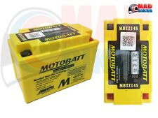 Mbtz14s Motobatt Alta Potencia Agm Moto De Batería Para Ytz14s & ctz14s