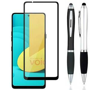 Stylus + FULL COVER Tempered Glass Screen Protector Guard For LG Stylo 7 / 5G